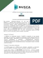 Modelo de Contrato - Consultoria
