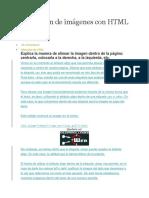 Alineación de Imágenes Con HTML