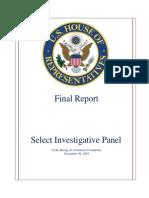 Select Investigative Panel Final Report Copy
