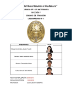 Laboratorio - Ensayo de Traccion - Informe 1.