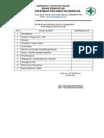 7.6.2.1 Daftar Kasus Gawat Darurat Yang Biasa Di Tangani