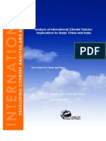 CCAP Analysis of International Climate Policies