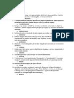 Vocabulario psicología clínica