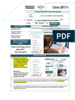 Trabajo Académico de Alas Peruanas Sobre Ética y Moral Profesional