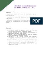 Determinación de La Composición de Una Aleación Pb Sn