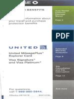 United Explorer Benefits
