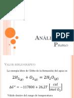 Análisis de PH2 y PH2O