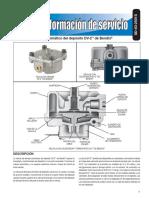 Válvula de drenaje automático del depósito DV-2™ de Bendix