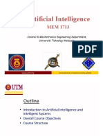 Introduction of Artificial Intelligence