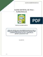 Convocatoria Cas Nº 002-2018