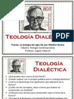 Teología Dialéctica