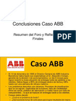 Conclusiones Caso ABB