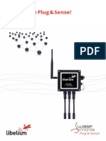 Waspmote Plug and Sense Sensors Guide