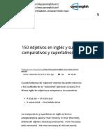 150 Adjetivos en ingles lista - Ejemplo... adjetivos comparativos _ Open English.pdf