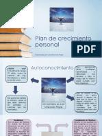 Luis Macedo Rojas, Plan de Acción Personal