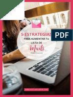 5 Estrategias Para Aumentar Tu Lista de Mails