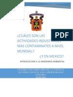 Cuáles son las actividades industriales  más contaminantes a nivel mundial.docx MANUEL BARAJAS.docx