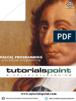 Pascal Tutorial Point