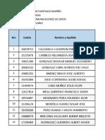 Nomina Redes de Comunicaciones de Datosyy