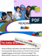 Reading Year 6 KSSR