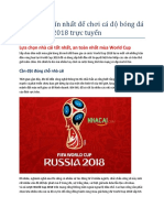 188BET - Nha Cai Uy Tin Nhat de Choi CA Do Bong Da World Cup 2018 Truc Tuyen
