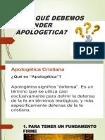 Por Qué Debemos Aprender Apologetica