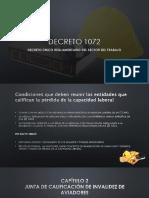 DECRETO 1072 Presentación