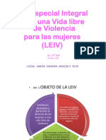 Leiv Presentacion Para Conferencia