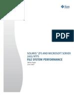 Solaris zfs vs Microsoft Server 2003