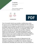Resumen Del Libro 'Inteligencia Social', De Daniel Goleman