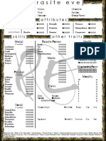 ParasiteEve 1-Page Editable
