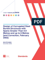 Design of Corrugated Steel Buried Structures