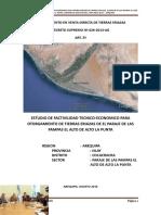 Copia Estudio de Factibilidad Tecnico Economico a Nivel de Perfil