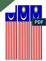Bendera Bunting Kecik