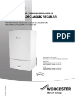 Greenstar 30-40 CDi Classic Regular Operating Instructions