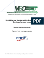 Reliability and Maintainability Program Plan Template