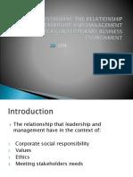 Unit 4- Management & Operations- LO4
