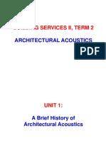 Acoustics Unit 1