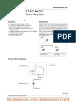 KA431-KA431A-KA431L Programmable Shunt Regulator