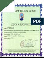 Anexo 3 - Licencia de Funcionamiento