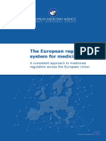 Regulatory Framework Pharmaceuticals in Europe