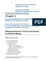 Download Full Solution Manual a Preface to Marketing Management 14th Edition by J. Paul Peter SLM1011