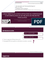 Características Clínico-etiológicas, Hormonales e Histopatológicas de Melasma