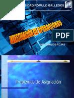 Presentación ASIGNACION  Y TRANSPORTE