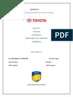 Marketing Strategies of Toyota in India