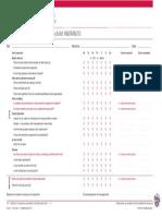 Drill Rig Inspection Checklist Hsmi10