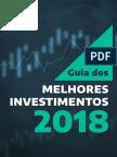 Guia Melhores Investimentos 2018