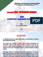 Altimetria y Nivelacion 2013