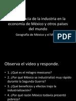 Importancia de la Industria Geografía