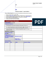 Project Charter Form2
